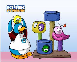 penguin's Christmas fun