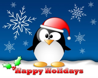 Penguin Christmas wallpapers