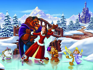 Santa Snow Dance Wallpapers