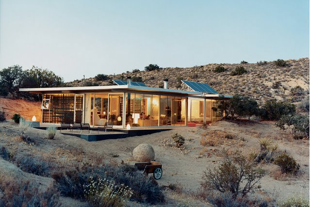 Pure Green Eco Design Off Grid House