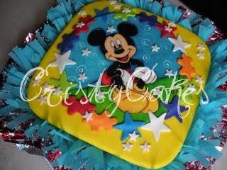 torta mickey minnie mouse - DULCE Y ARTE : Tortas para