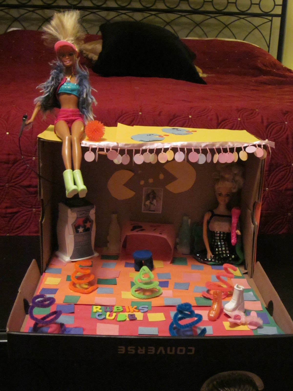 Nicki elson 39 s not so deep thoughts barbie 39 s 80s dreamhouse for 80s deep house