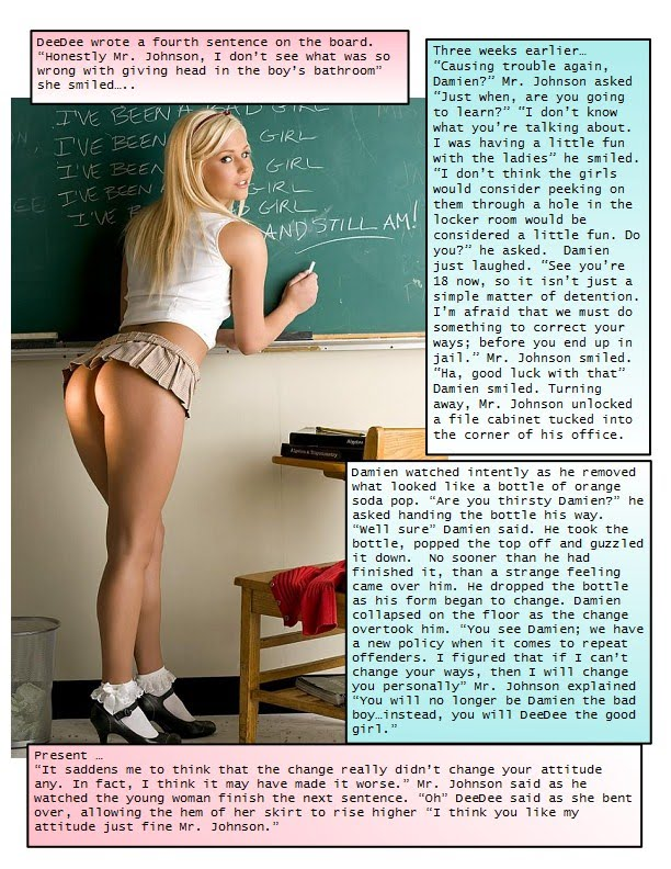 Forced Feminization Captions Blog http://skylar123captions.blogspot.com/2010_04_01_archive.html