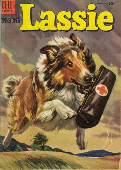 ... Showbiz: Lassie with specia...