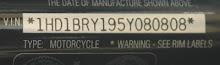 El Número de Identificación de tu Harley-Davidson (VIN)