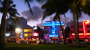 2. Ocean Drive: When you think stereotypical Miami, you're probably . (na usa fl miami south beach ocean drive neon )