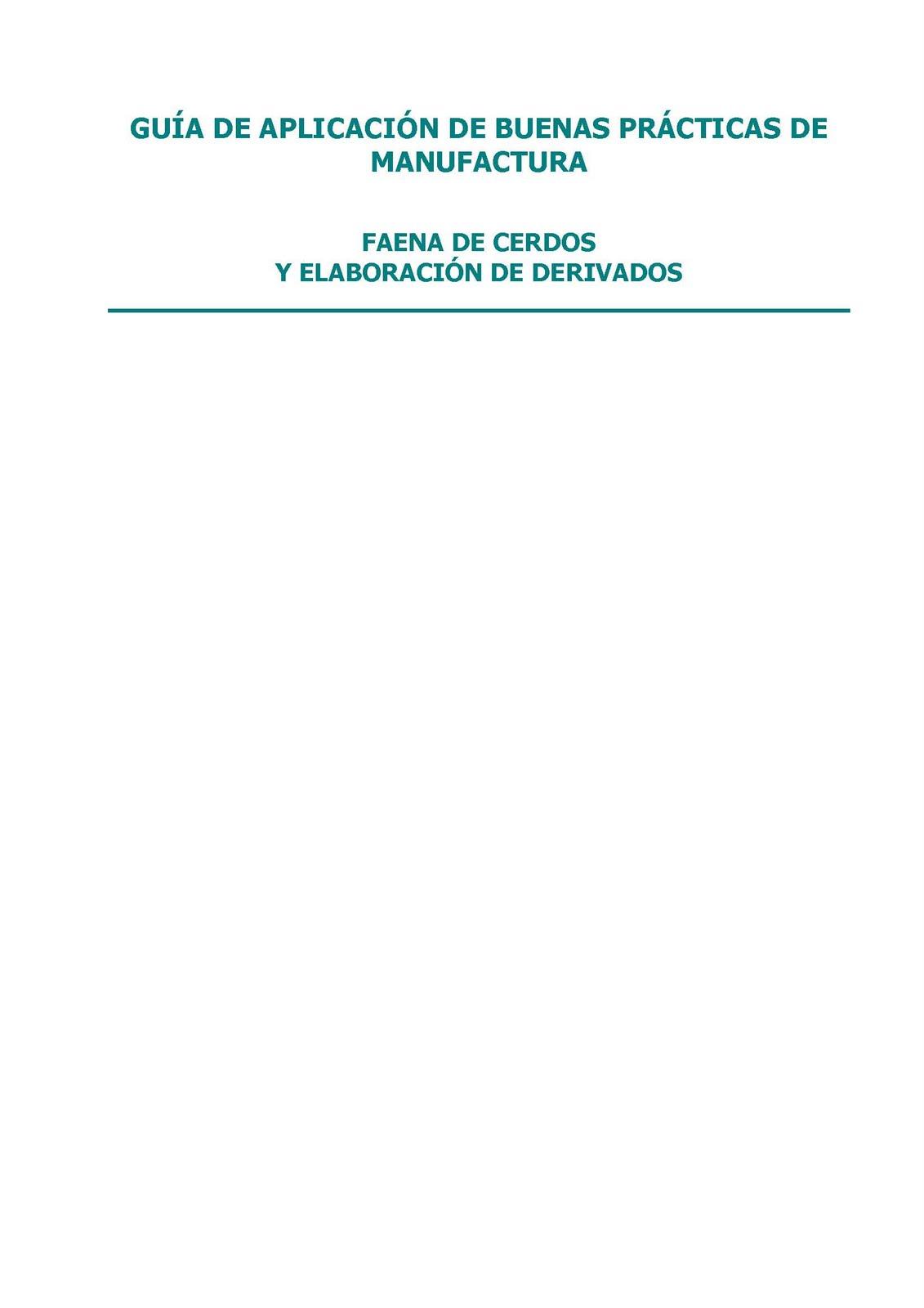 Hades gu a de aplicaci n de buenas pr cticas de Manual de buenas practicas de manufactura pdf
