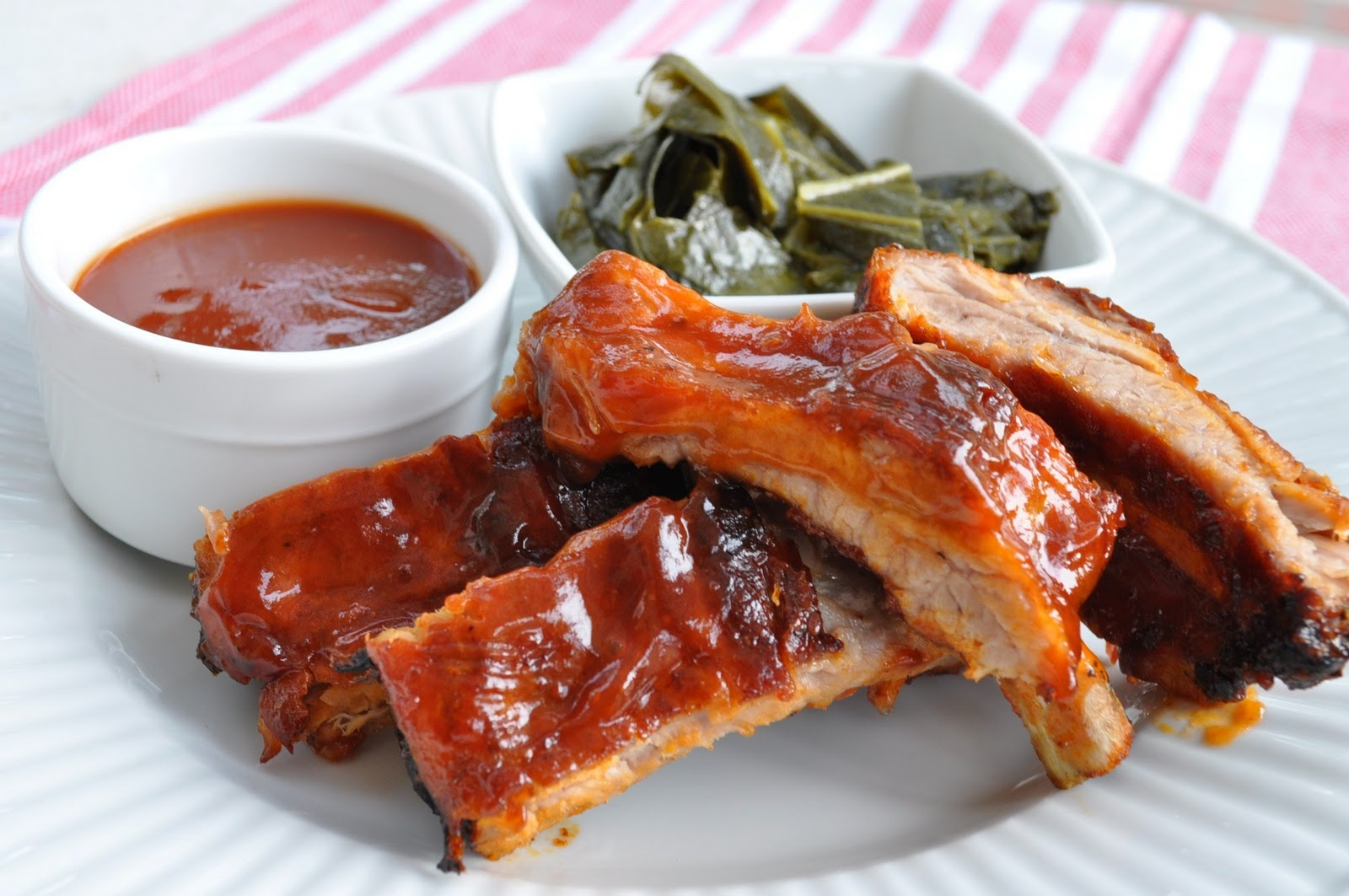 Freeing My Martha: BBQ Pork Ribs