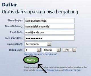 Cara Membuat Facebook (FB) | www.facebook.com