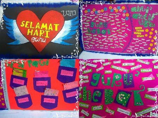 Kad Ucapan untuk guru-guru SMKTDS yang direka khas oleh ahli Kelab