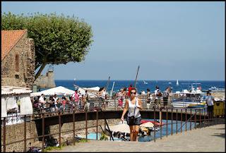 Collioure, la mer