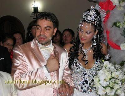 fanica si florin salam poza nunta