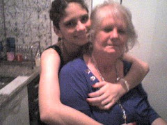 Vó Marlene e Elisabeth