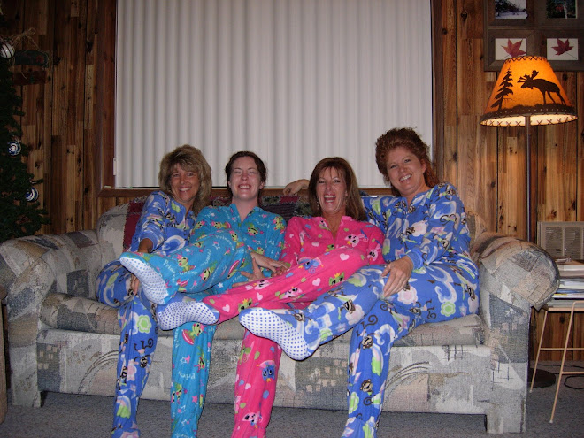 Pajama Party at the Cabin