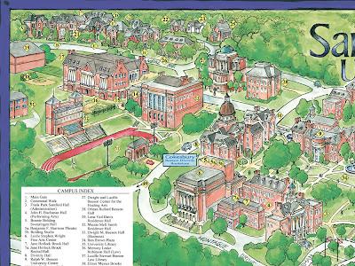 Garrison S Map Revisions Samford University 2008
