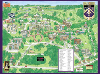 Garrison's Map Revisions: Spring Hill College