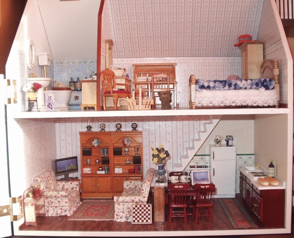 Casitas en Miniatura: Fotos Casa Roma