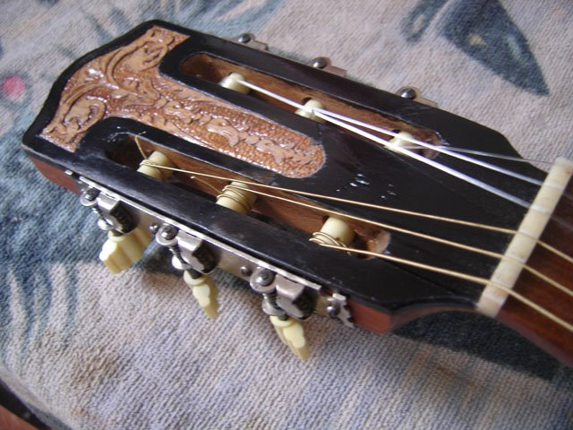 Como Reparar la cabeza de tu guitarra