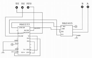 8051 avr pic microcontroller projects rs232 rs485 rs232 rs232 to rs485 converter circuit publicscrutiny Choice Image