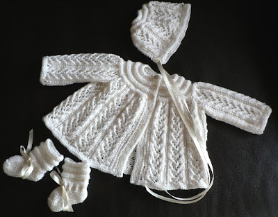 Knitty Bloggy Baby Bumpers Lacey Layette