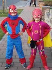 mijn superhelden