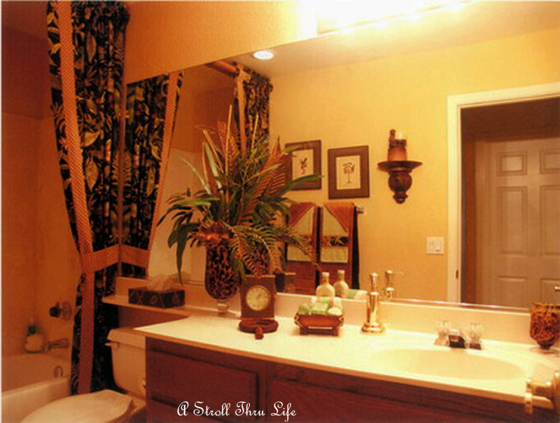 A Stroll Thru Life: Bathroom Redo - Cheap