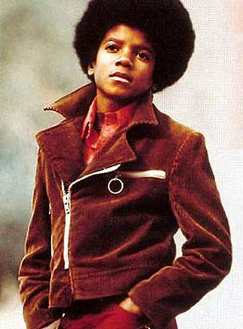 pics of young michael jackson