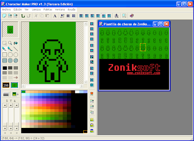 Character Maker Pro -Programa gratuito para crear sprites   Screen1fh7