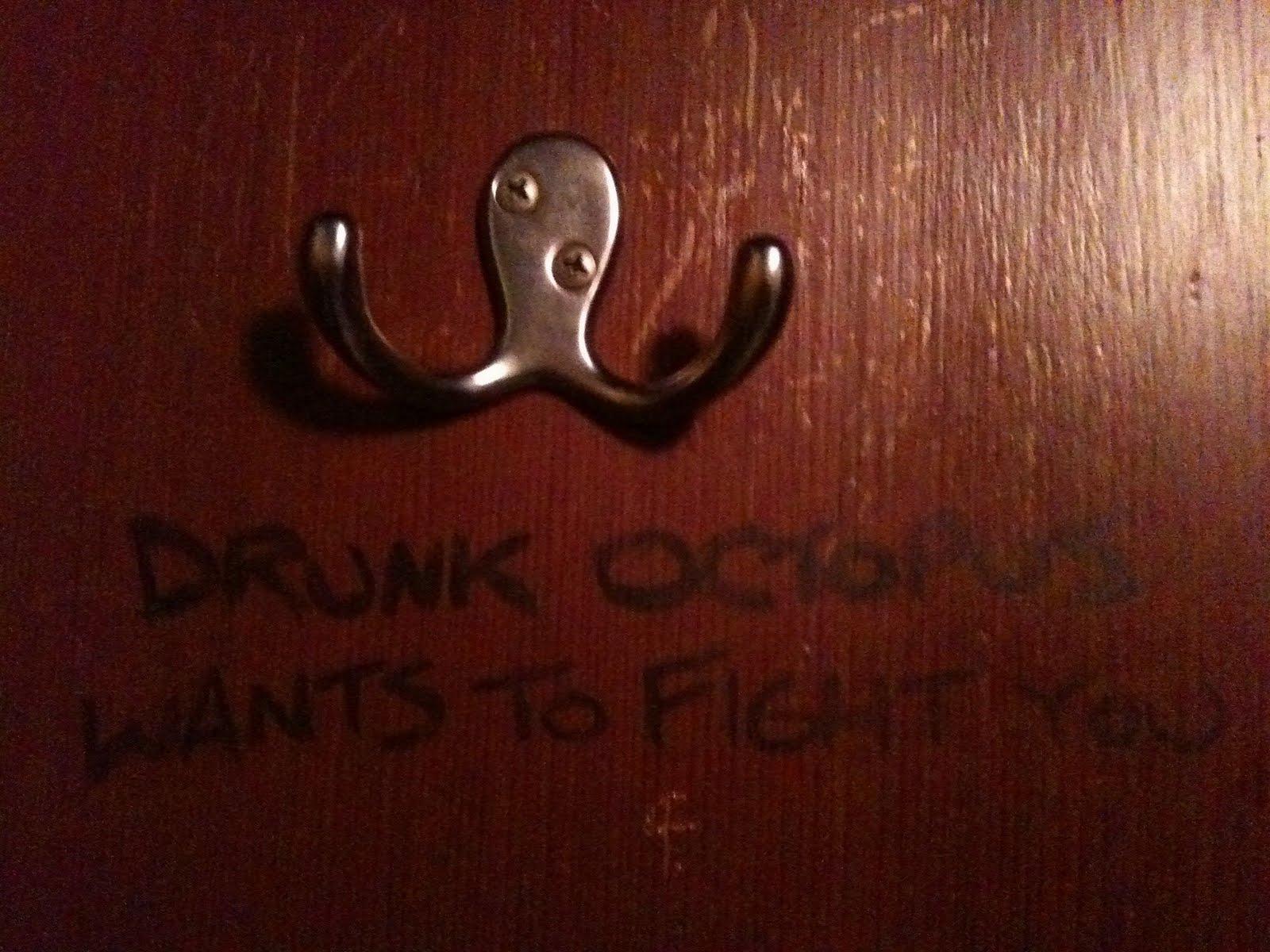 Drunk octopus hook the zen moment - Octopus coat hook ...