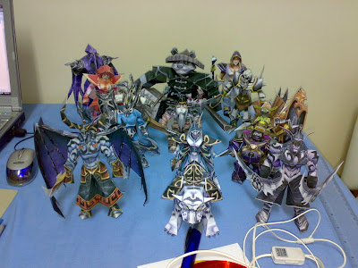DotA Heroes/Characters Origami (Paper Models) - Images - Warcraft III DOTA