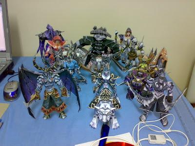 dota heroes characters origami paper models dota utilities