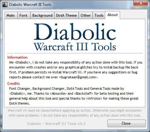 Diabolic War3 Tools Image-8