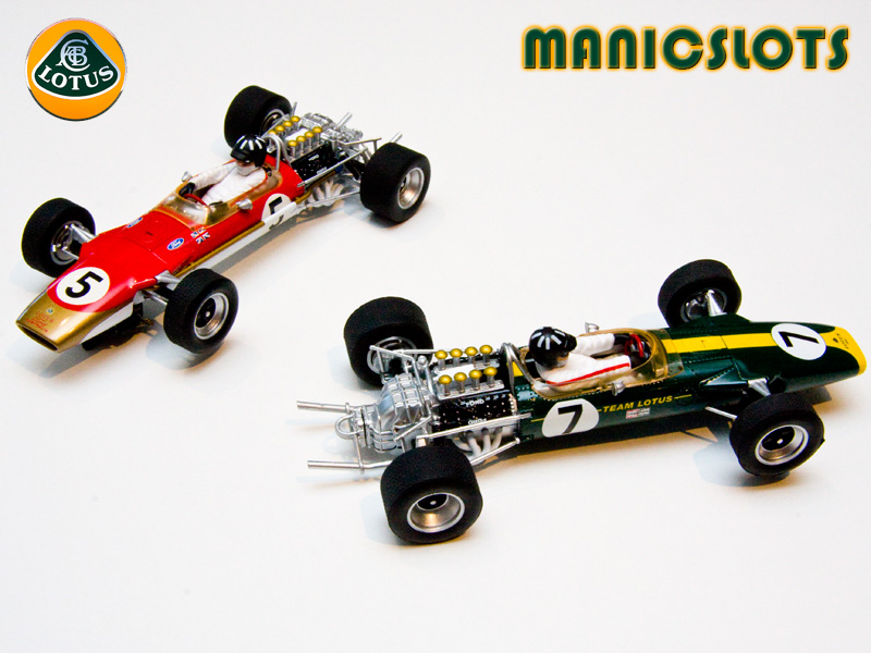 manicslots 39 slot cars and scenery immortal lotus type 49. Black Bedroom Furniture Sets. Home Design Ideas