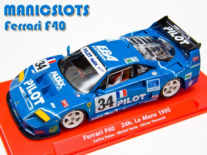 Manicslots Slot Cars And Scenery Gallery Ferrari F40