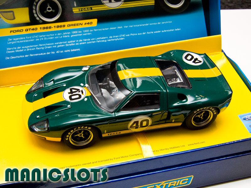 Manicslots Slot Cars And Scenery Gallery Ford Gt40