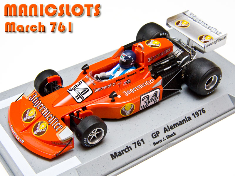 Manicslots Slot Cars And Scenery Gallery March 761 Jager