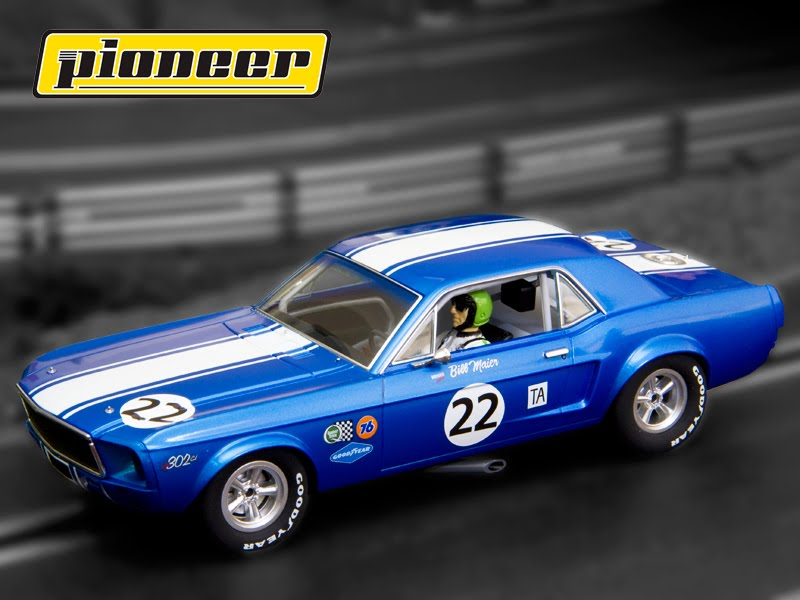 Manicslots Slot Cars And Scenery Gallery Pioneer Mustangs