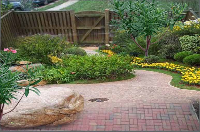 Architecture homes small backyard designs for Yard landscaping ideas