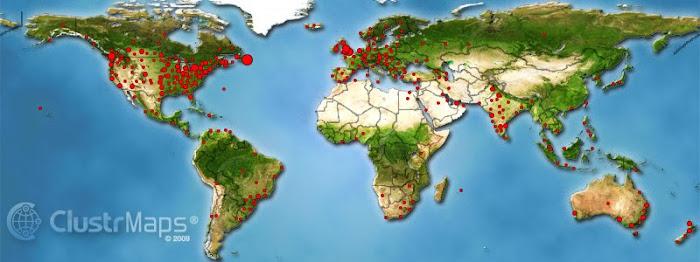 Map Nov. 2009 - Nov. 2010