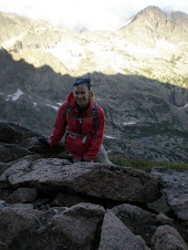Near The Top Of Longs Peak, Colorado