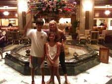 With the Ducks - and Parker and Payton - The Peabody Hotel, Memphis, TN