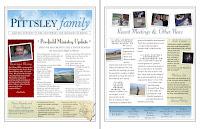 2009 Summer Newsletter