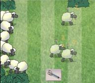 screen shot from Sheep Dash game (BBC)