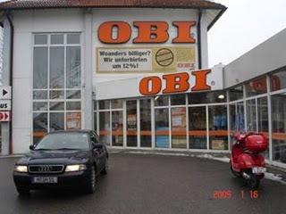 OBI store exterior