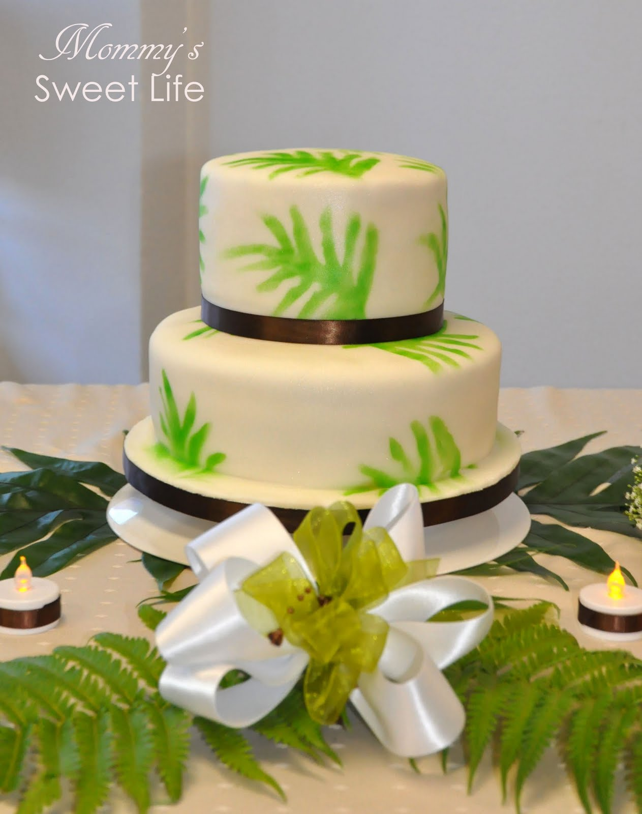 Mommy\'s Sweet Life: Wedding Cake Weekend