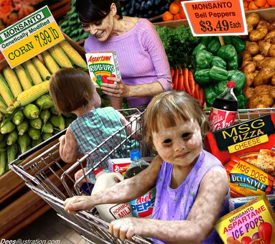 genetically modified food and monsanto Does the monsanto protection act create a 'precedent-setting limitation adverse health effects related to the consumption of genetically modified foods.