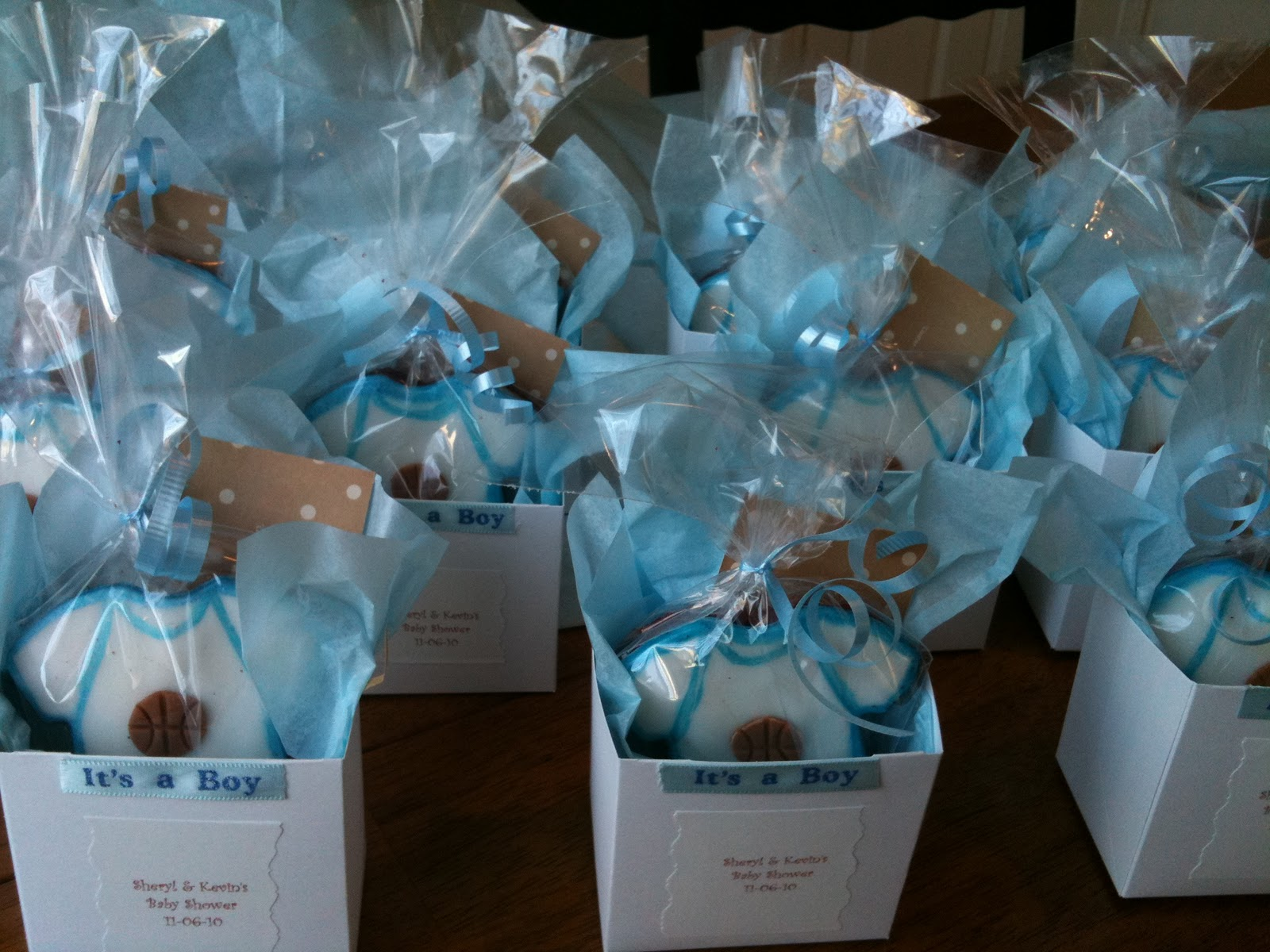 Jaymbitions onesies favors for Baby shower decoration kits boy