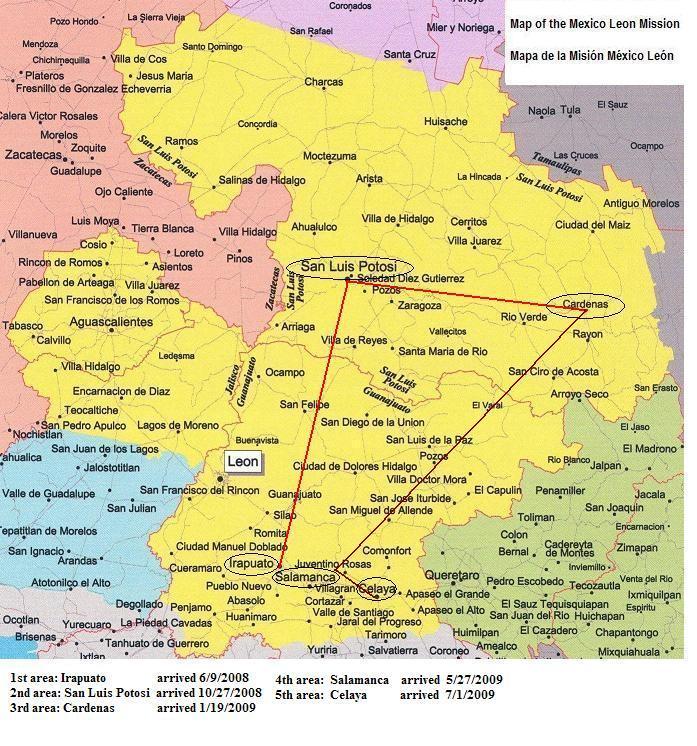 Benjamins Missiona areas
