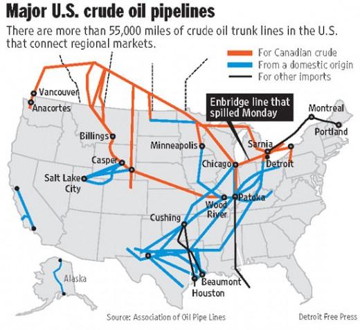 The Age Case Files CASE Pipeline Wars - Oil pipeline us map