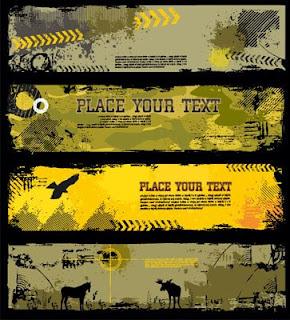 Shutterstock Grunge Banners